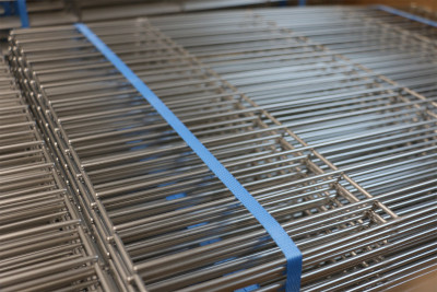 Custom stainless steel cooking grids