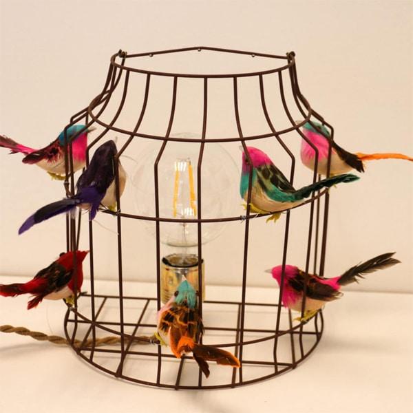 Vogelkooi wandlamp